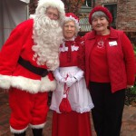 Santa Claus, Mrs. Claus & Friend - Holiday Open House