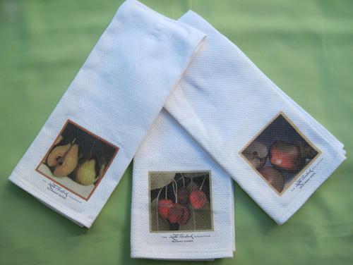Towels - Quince, Cherries, Apple