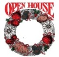 Holiday Open House wreath logo